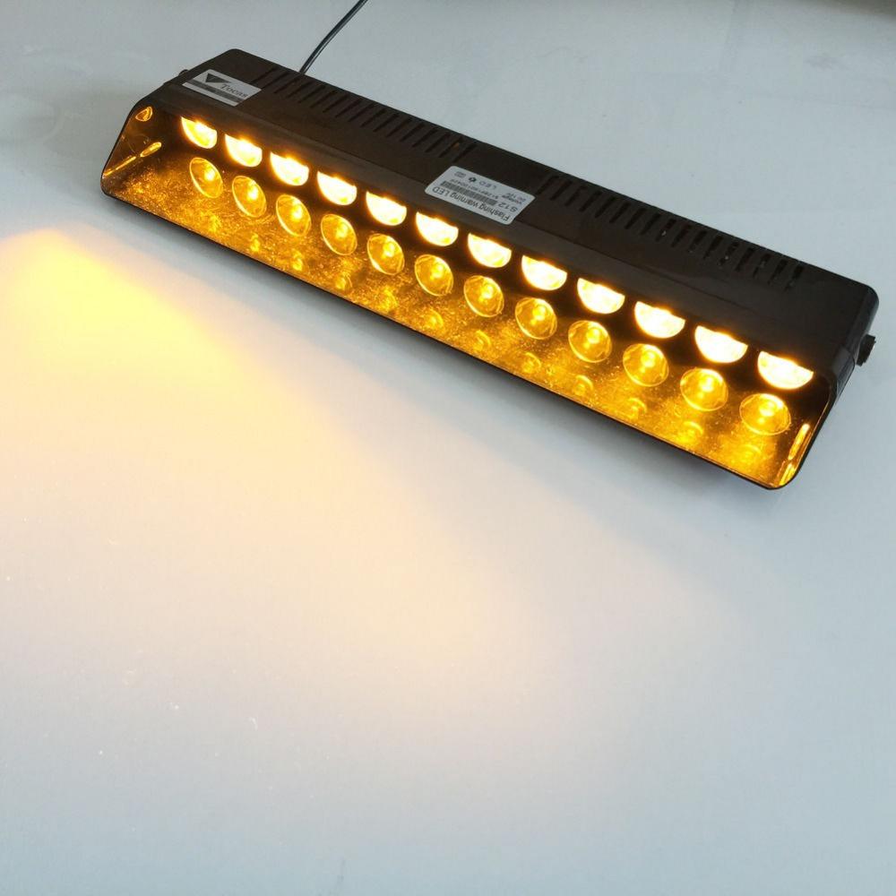 advisor vehicle strobe led flash light bar amber in warning lights. Black Bedroom Furniture Sets. Home Design Ideas