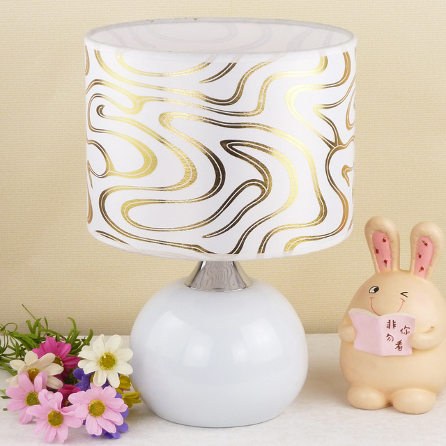 Modern fashion brief fashion table lamp ofhead lighting lamps touch dimmer