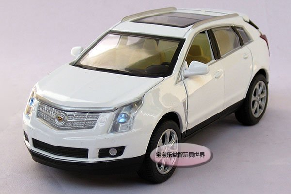 Cadillac 1:32 SRX Alloy Diecast Model Car Toy Collection With Sound&Light White B323(China (Mainland))