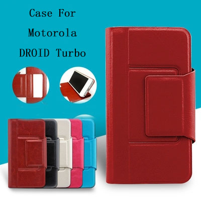 2015 New Mobile Phone bag Wallet design Shell Protector PU Leather Phone Cover For Motorola DROID Turbo For Moto XT1254 Case(China (Mainland))