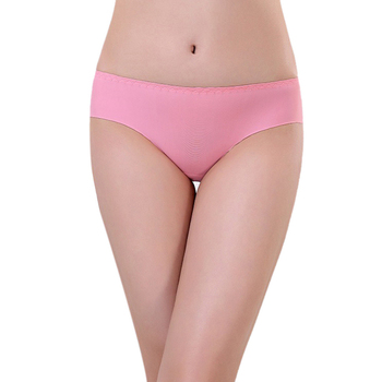 Amazing Solid Color Sexy Women Underwear Spandex Seamless Briefs Comfortable Panties Free Shipping