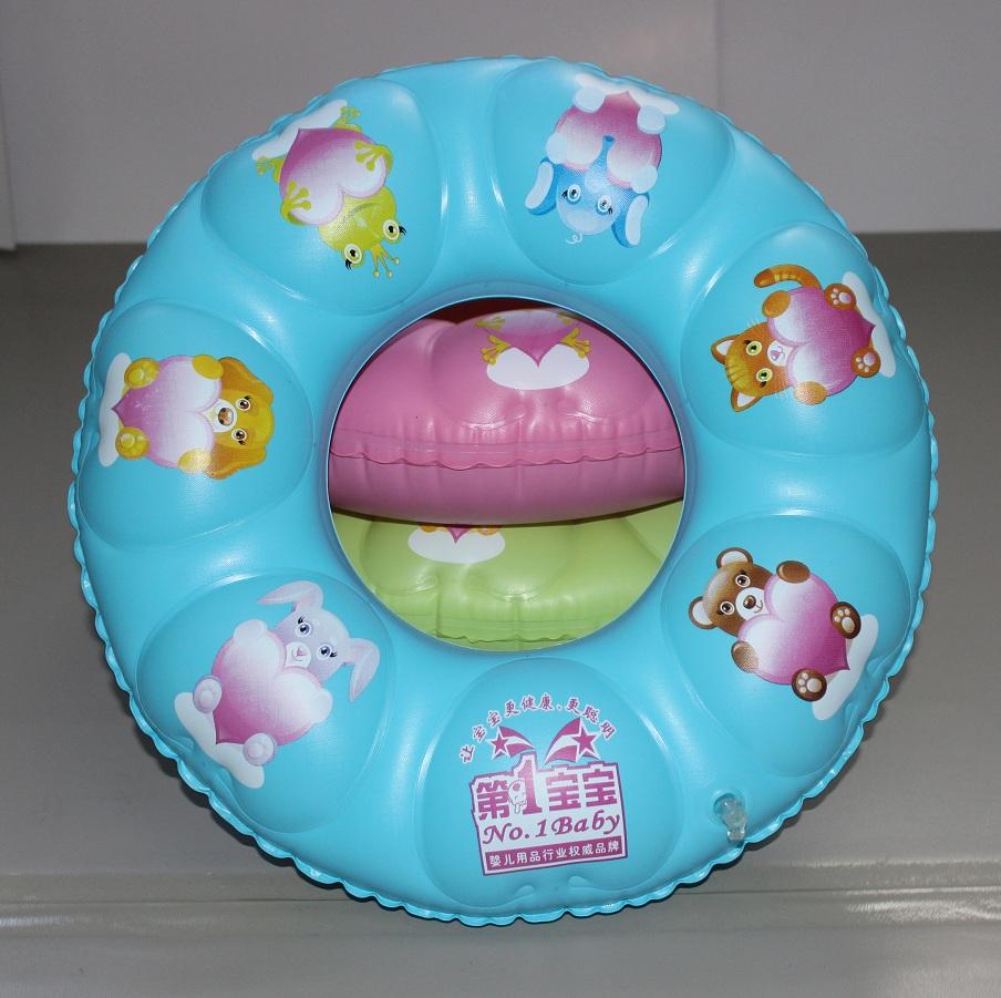 High Quality PVC Child Swimming Ring 50cm Swim Circle inflatable Swim Ring Summer Water Toy(China (Mainland))