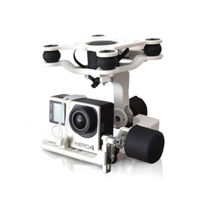 Geocalla G4-3D 3-Axis FPV Brushless Gimbal Camera Mount for Gopro Hero SJCAM Xiaomi Actioncam Hawkeye