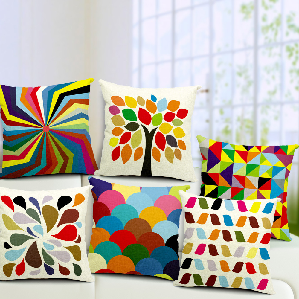 Throw Pillow Trends 2015 : 2015 car styling cushion covers decorative throw pillows decorate pillow cover almofadas ...