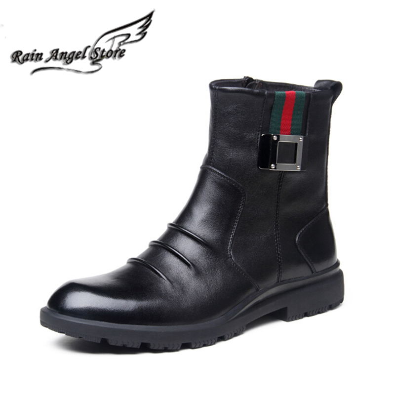 Men Wide Winter Boots Zippered | Santa Barbara Institute for ...