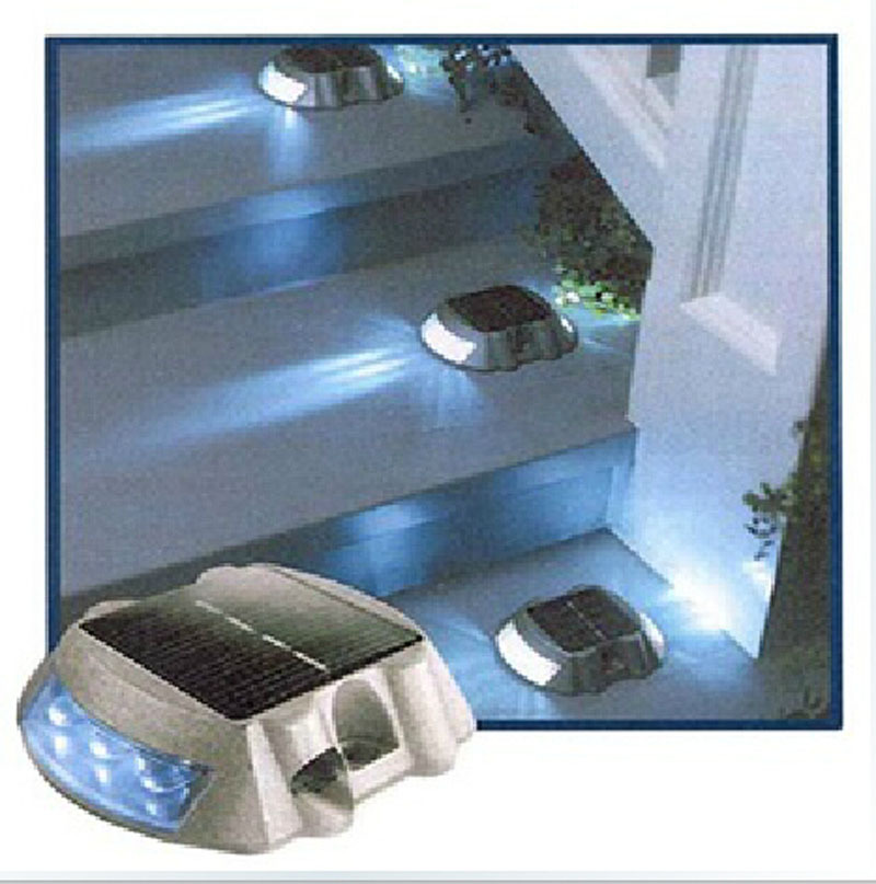 light driveway road garden pool automatic in solar lamps from lights. Black Bedroom Furniture Sets. Home Design Ideas