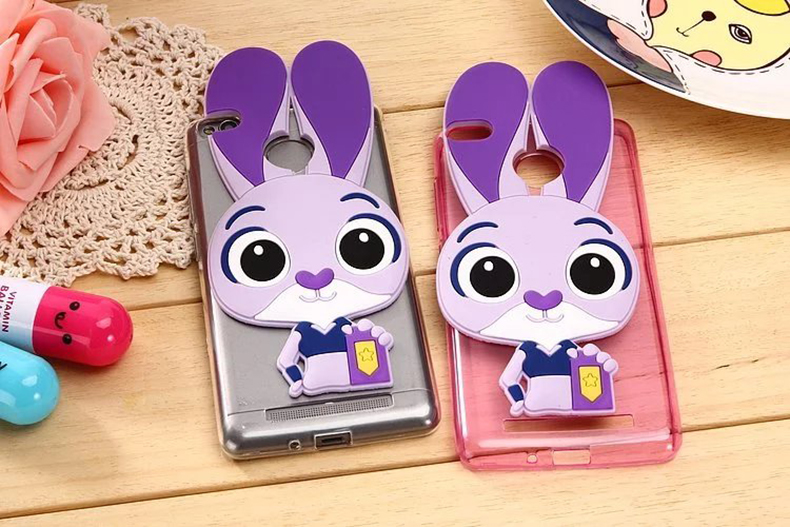 "For Xiaomi Redmi 3 Case Cover Silicon Fashion Cartoon Phone Sleeve Case For Xiaomi Redmi 3 5.0"" TPU Cover Protective Accessorie"