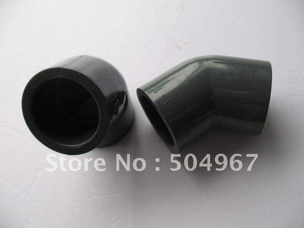"""retails and wholesale pvc pipe fitting/45 degree elbow 2"""" DN50 DIN standard(China (Mainland))"""