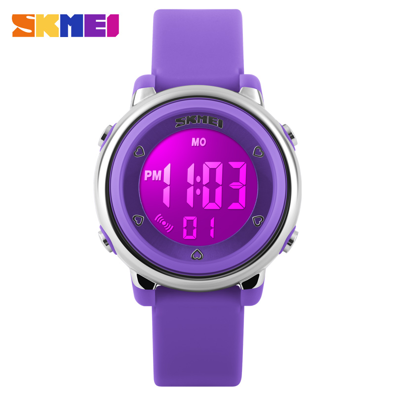 2016 SKMEI Girl <font><b>Watch</b></font> Kids Boy children <font><b>Watch</b></font> LED Digital Wrist <font><b>Sports</b></font> <font><b>Watch</b></font> LED Waterproof <font><b>Watch</b></font> Fashion Colorful Jelly Rubber