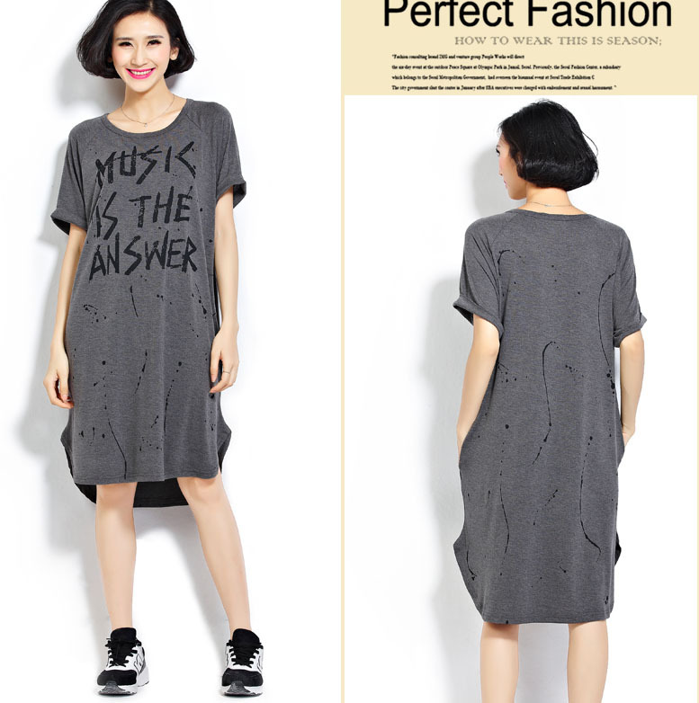 plus size long tee shirt dress – dress best style form