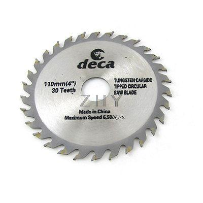 """Wood Cutting Tungsten Carbide Tip 30 Tooth Saw Blade 4""""(China (Mainland))"""