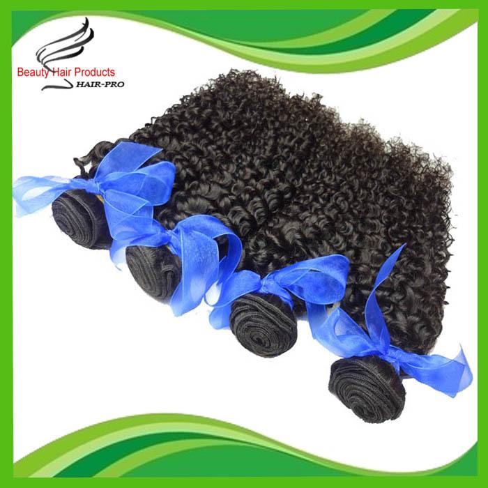 5A Brazilian Remy Hair Deep Curly 4 pcs/lot Huma Hair Weave Mix Length 14-28 Brazilian Kinky Curly Hair Extensions<br><br>Aliexpress