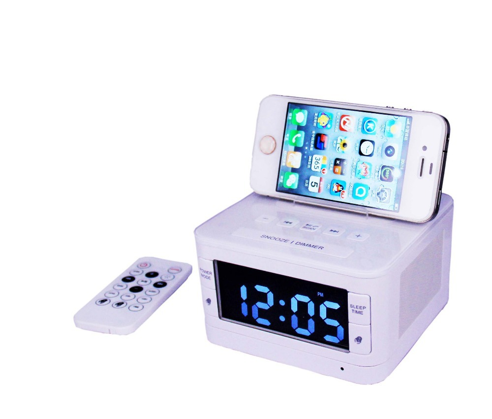 buy k7 bt wireless bluetooth speaker usb charging port fm radio alarm clock. Black Bedroom Furniture Sets. Home Design Ideas
