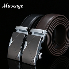 Buy MUSENGE Designer Belts Men High Leather Men Belt Luxury Automatic Buckle Ceinture Homme Cinturones Hombre Cinto 2017 for $9.06 in AliExpress store