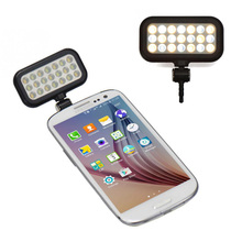 Buy 21 LED lighting Selfie Flash Light Camera Phone Lens iPhone Samsung Xiaomi Multiple photography mini selfie sync Flash for $7.35 in AliExpress store