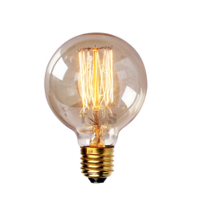 Vintage Edison Bulb Retro Lamp G80 G95 G125 40W Incandescent Light Bulb lampada edison lamps E27/110V 220V lamp For Pendant Lamp(China (Mainland))
