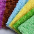 Big Sale ROSE ROSETTE SWIRL MINKY FABRIC CUDDLE VELBOA PV plush fabric 160cm width Sold by