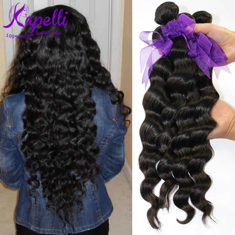 Brazilian Loose Wave Human Hair Extensions Body Wavy Brazilian Virgin Hair Weave 4 Bundles 8A Grade Unprocessed Brazilian Hair<br><br>Aliexpress