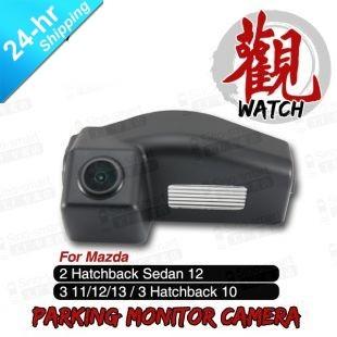 Free Shipping Wired HD CCD Car Parking Reversing Camera for Mazda 3 2 Hatchback Sedan 3 Hatchback etc. Night Vision Waterproof