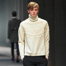 Miss Chen 2016 Men's clothing fashion ruslana korshunova sweater o-neck sweater winter(China (Mainland))