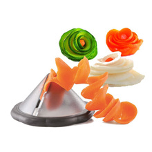 creative kitchen gadgets vegetable spiralizer slicer tool/ kitchen accessories cooking tools/accesorios de cocina