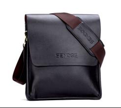 2015 New Arrivel men messenger bag fashion leather shoulder bag casual briefcase brand name bags(China (Mainland))
