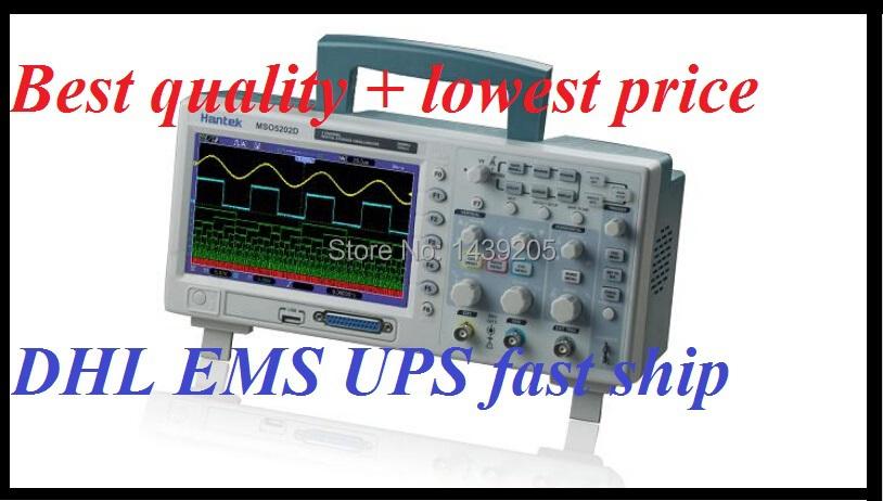 Hantek MSO5202D 200MHz 2 Channel 1GSa/s Oscilloscope 16CH Analyzer Hantek MSO 5202D DHL EMS UPS shipping(China (Mainland))