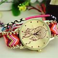 Excellent Quality Womens Quartz Watches Dreamcatcher Bracelet Watches Women Braid Dress Watches Clock Relogio Feminino For