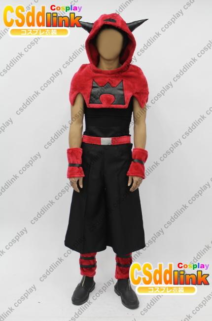 Pokemon Team Magma cosplay costume male