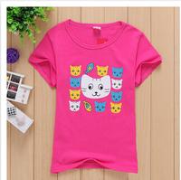 hot 2015 new baby t shirt  boys girls unisex tops cotton  children t-shirt cartoon baby tees summer 3-6 year children clothing