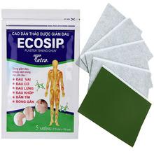 5Pcs ECOSIP Treatment Osteoarthritis Bone Hyperplasia Omarthritis Rheumatalgia Spondylosis Paste Pain Relieving Patch