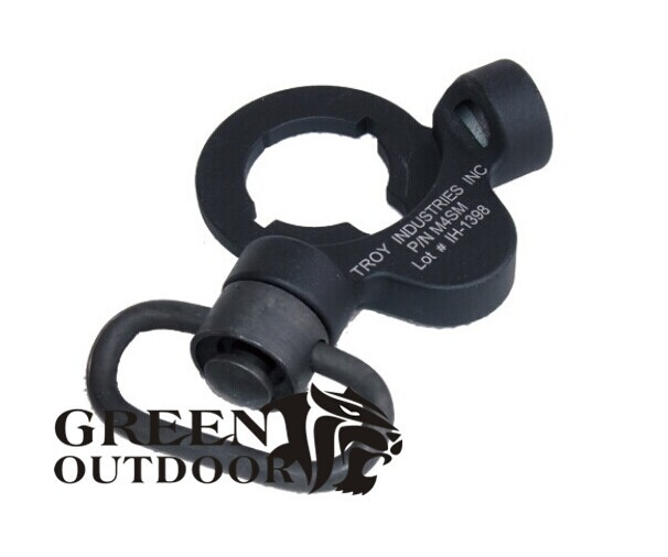 Troy Steel Dual Side QD Sling Swivel Black For AEG Version LY14-011(China (Mainland))