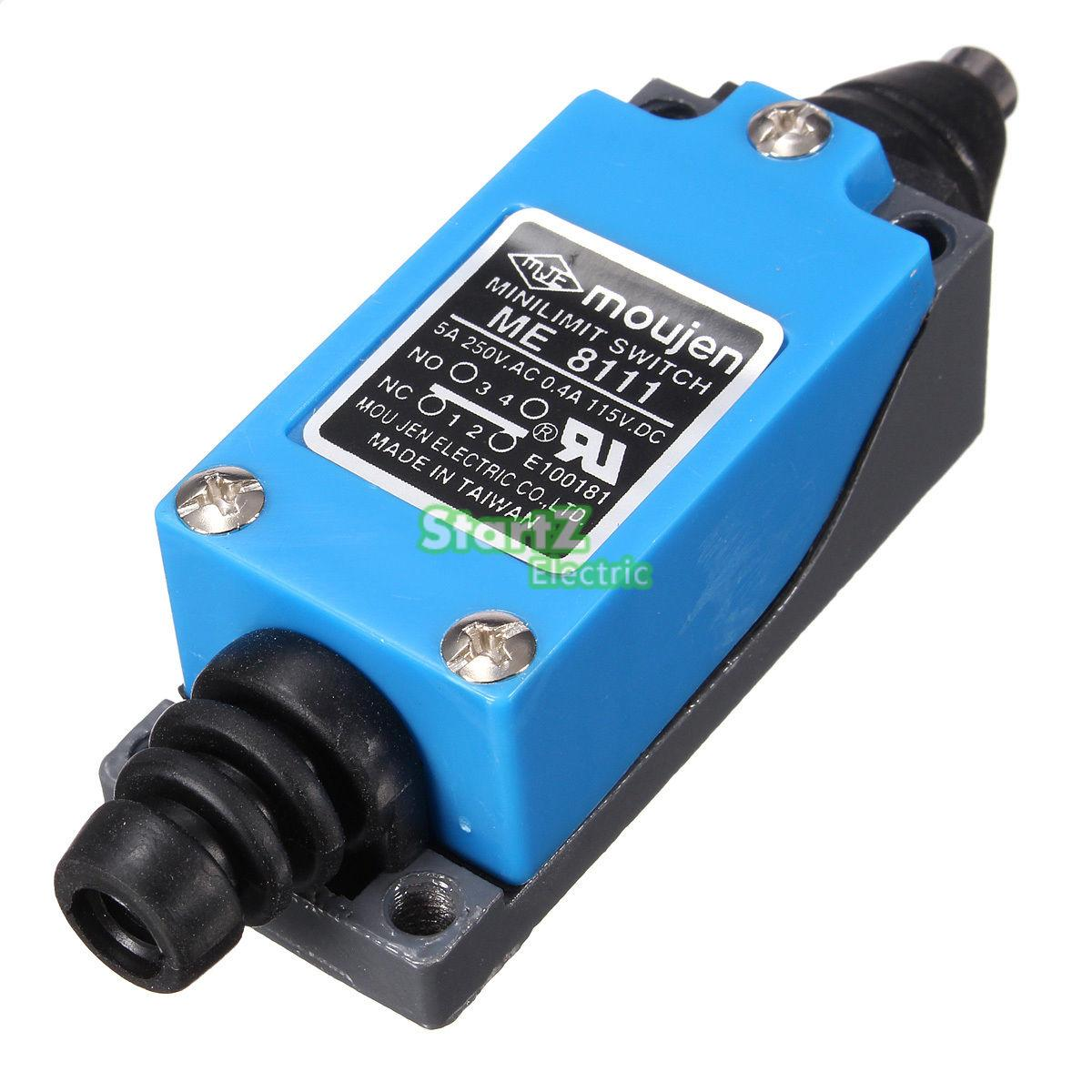ME-8111 NO NC Momentary Pin Plunger Actuator Enclosed Limit Switch<br><br>Aliexpress