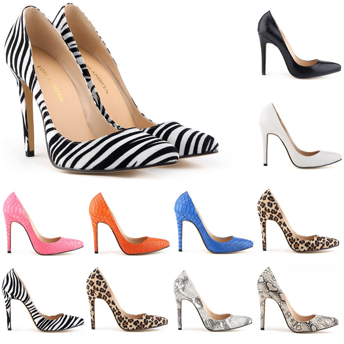 AAKT Brand Women Fashion High Heels 11cm Leopard Snake Print Leather Women Sexy Pumps Lady Casual Party Club Office Shoes Famous(China (Mainland))