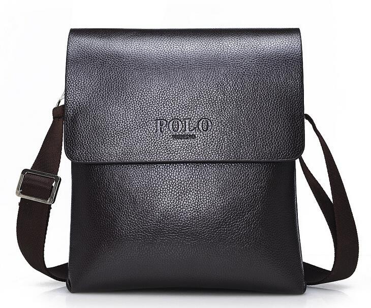 New Arrive Wholesale&Retail Men Leather Shoulder Bag Fashion Brand Messenger Bag Cool Designer Free Shipping(China (Mainland))