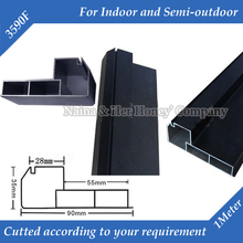1meter/pc 6meters/lot 3590F Straight Corner LED Display Screen Frame Suit for P7.62,P10 ,P16,P20 Indoor and Semi-outdoor(China (Mainland))
