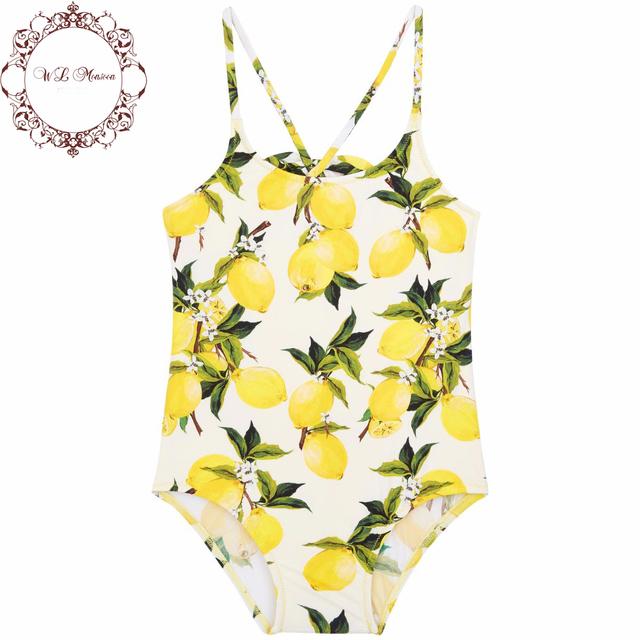 Девушки купальники 2016 летом малыша купальный костюм дети цельный купальник девушки малышей купальники цветочный принт дети купальники бикини