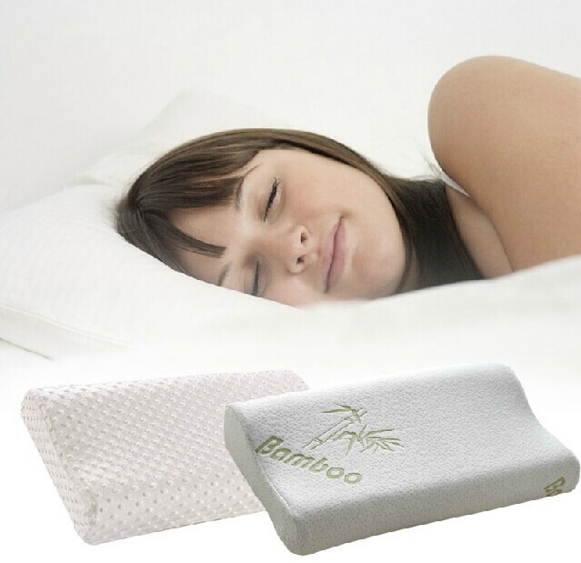 Soft travel memory foam space pillow 30 x 50cm slow for Best soft memory foam pillow