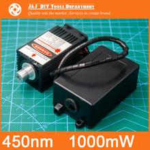 450 nm, 1000 mW 12V High Power Laser Module have TTL,Adjustable Focus Blue Laser module. DIY Laser engraver accessories.