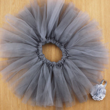 14 Designs Tulle Baby Tutu and Headband Halloween Kids Infant Tutus Newborn Birthday Photography Props 1set