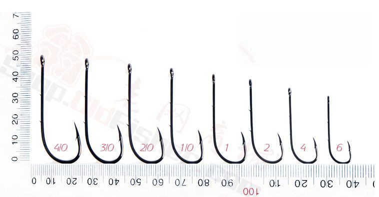 Mustad hook size chart driverlayer search engine for Fish hook size chart