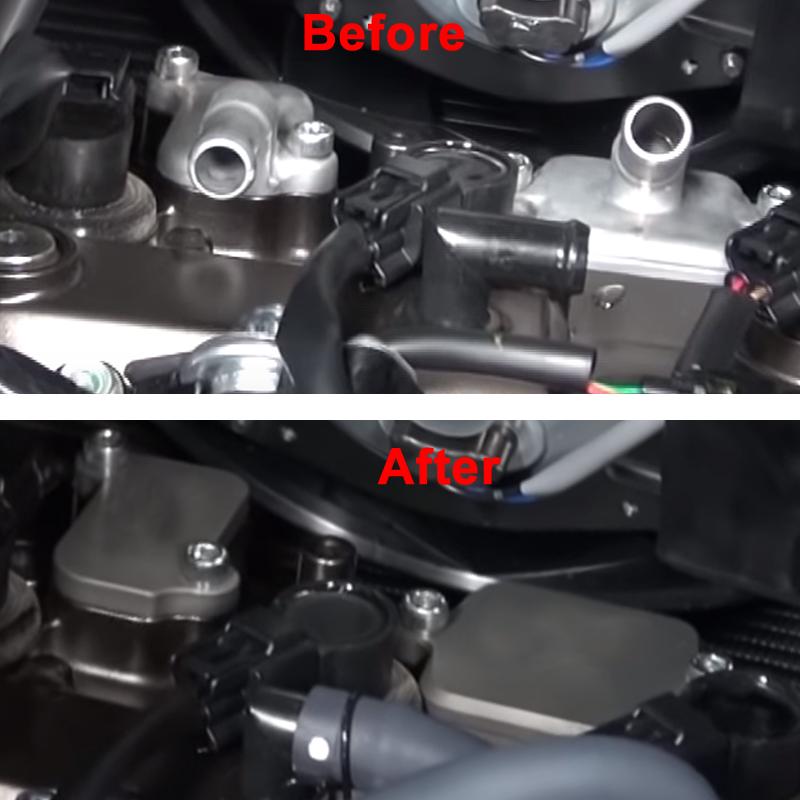 YAMAHA 2014-2016 FZ09 FZ-09 DRIVEN RACING SMOG BLOCK OFF PLATES