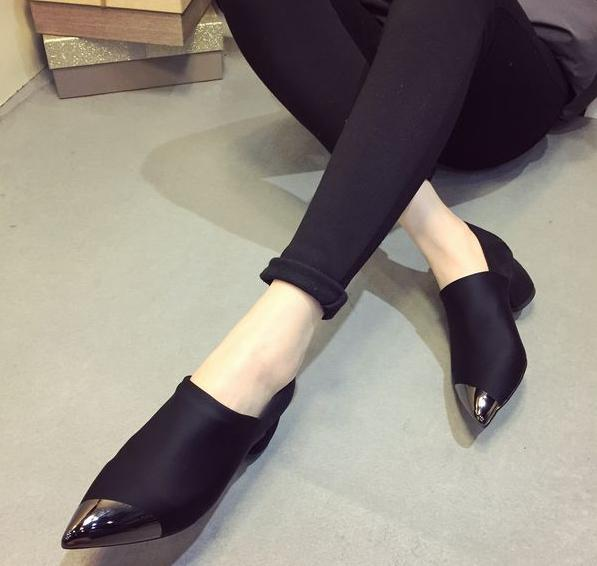 2015 fashion style high heels shoes single pumps women's shoes,sequined Show thin metal decoration brand women - Spirit Spa store