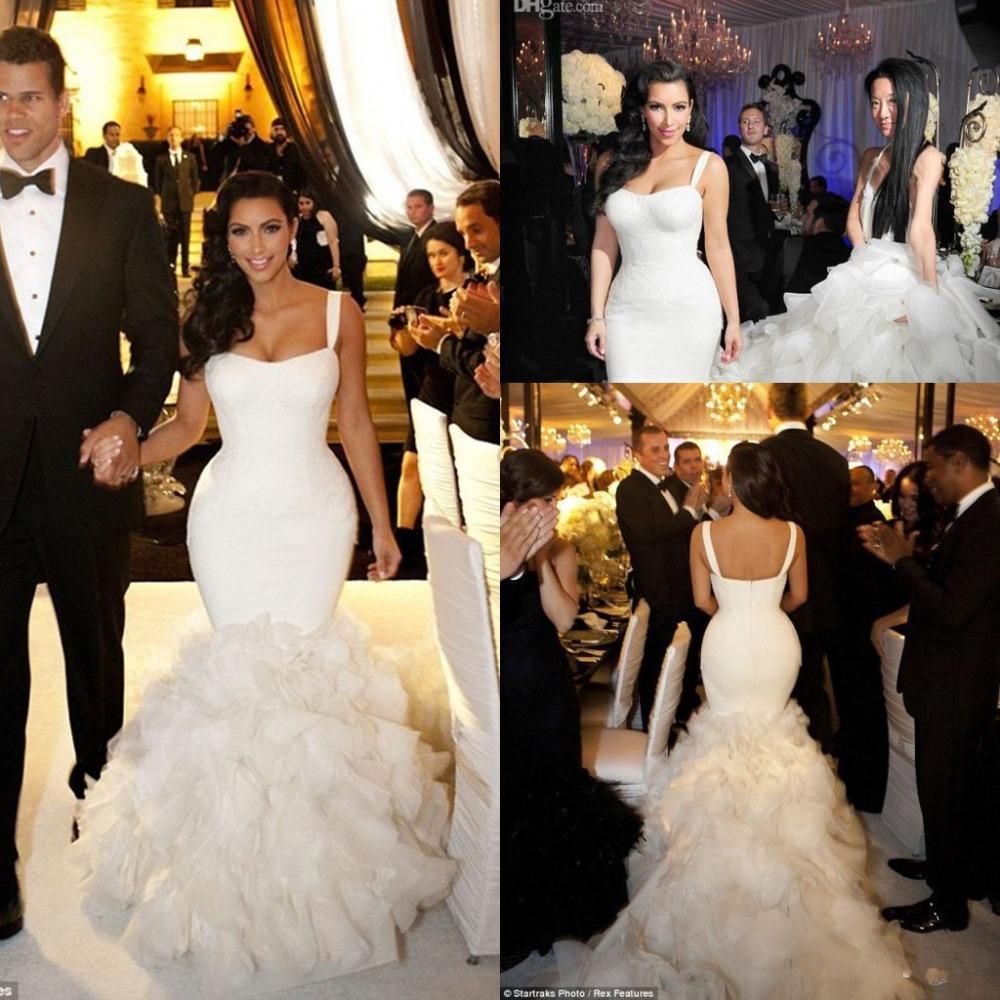 Robe de mariage de kim for Vera wang robes de mariage d hiver