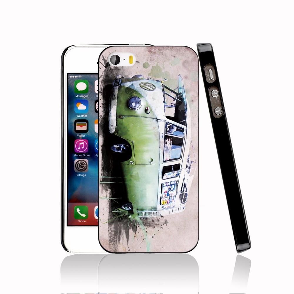 14654 furgoneta volkswagen vw bus protective Cover cell phone Case for iPhone 4 4S 5 5S 5C SE 6 6S Plus 6SPlus