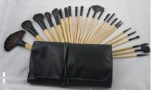 HOT Professional 24 pcs Paintbrushes of Makeup Brushes tools set Make up Toiletry Kit Wool Brand