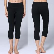 NEWARRIVALWomen Sport Pants Lulu Leggings Brand New Capris Fitness Women Sport Pants Elastic Gym Leggings Running Trousers pants
