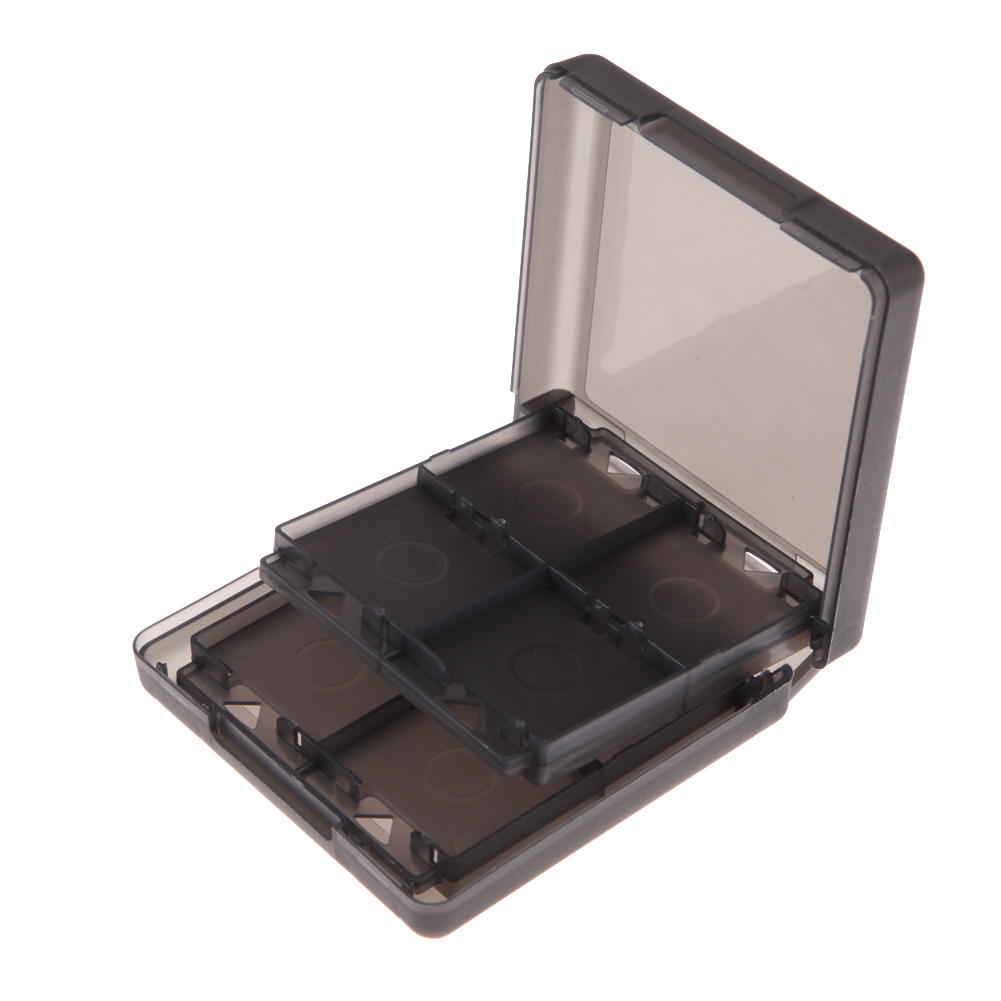 Hot Sale Black 16-in-1 Game Card Case Holder Storage for Nintendo DS DSI LL/XL Free Shipping NI5L(China (Mainland))