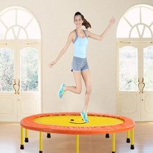 60inch Diameter 91cm folding Trampolines Spring bounce bed Euro Bungy fitness Equipments(China (Mainland))