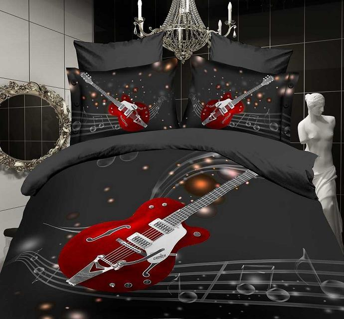 online kaufen gro handel gitarre bett sets aus china. Black Bedroom Furniture Sets. Home Design Ideas
